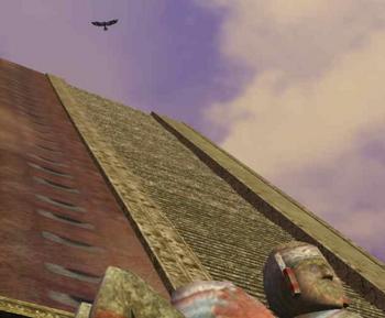 アステカの空にコンドルを見た.JPG